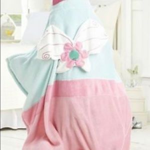 🐊FAIRY DESIGN HOODED BLANKET